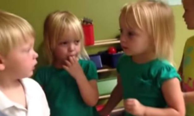 This Might Just Be The Most Adorable Children's Argument Ever. Too Cute!