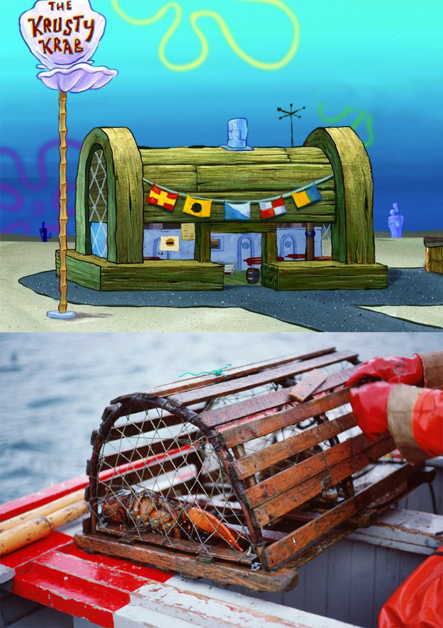 The Krusty Krab isn't a treasure chest. It's a crab trap. ?